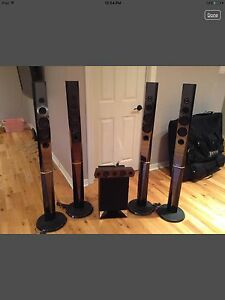 Sony 5.1 surround sound system home theater speakers