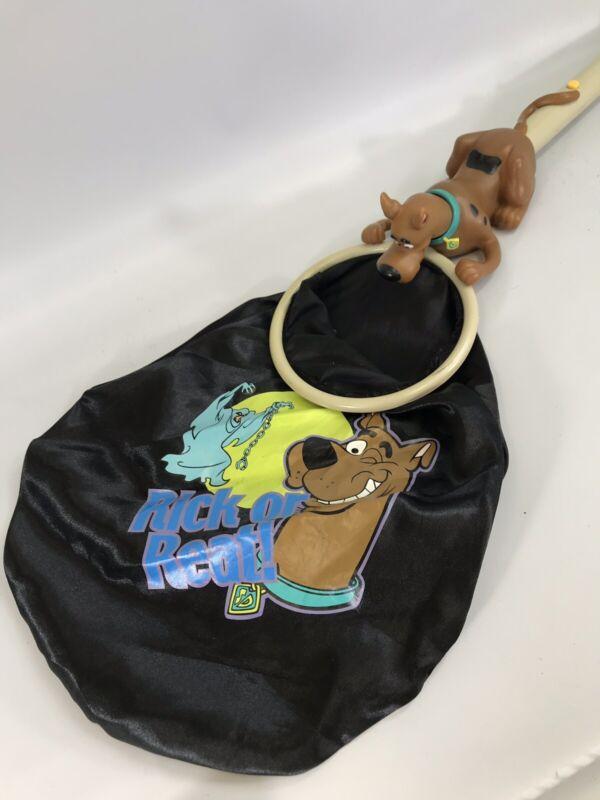 Scooby Doo Halloween Candy Bag Net Rick Or Reat Trick Or Treat Cartoon Show Rare