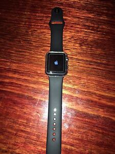 Apple 38 mm space grey as new come with box n charge South Yarra Stonnington Area Preview