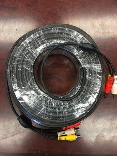 200 Foot Video Audio Power Cable RCA