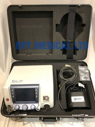 IRIDEX Iris Medical IQ 810 Diode MLT Laser Ophthalmoscope foot switch case