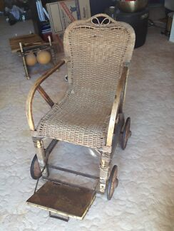 Antique wicker wheelchair Aspendale Kingston Area Preview