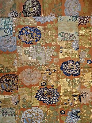 19th C. Japanese Silk Buddhist Priest's Cape