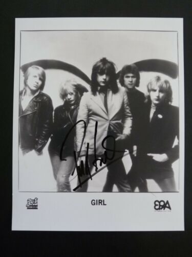 Phil Lewis L.A. Guns GIRL Promo Signed Autographed 8x10 Photo PSA BAS Guaranteed