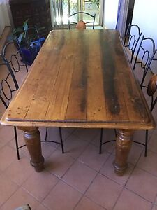 Australian Hard Wood 8 Seater dining table Wakeley Fairfield Area Preview