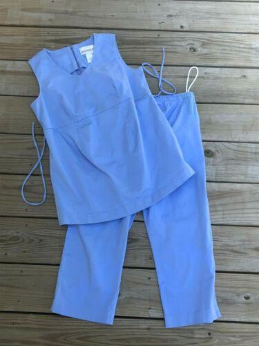 Motherhood 2pc Pants Sleeveless Top Size S