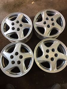 4 originalToyota rims-4 original Honda rims 15 inch