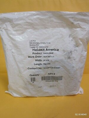 One (1) Roll Habistat America # MAM-05HP 35mm x 782mm
