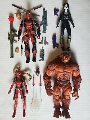 Marvel Legends Deadpool Lot Loose Sasquatch BAF Complete