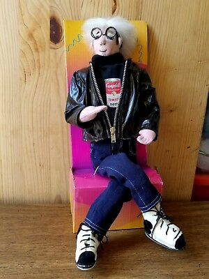 ANDY WARHOL VISUAL ARTS FOUNDATION,MERRY MAKERS,CAMPBELL SOUP PLUSH DOLL Andy Doll Maker