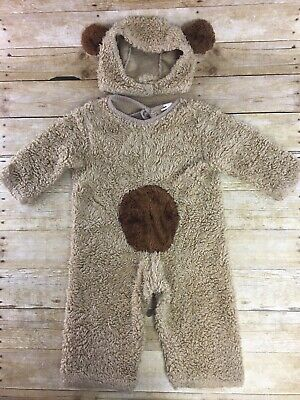 Halloween Brown Bear Book (Teddy Bear Costume Kids Childrens Size 2-4 Halloween Theater Costume Book)