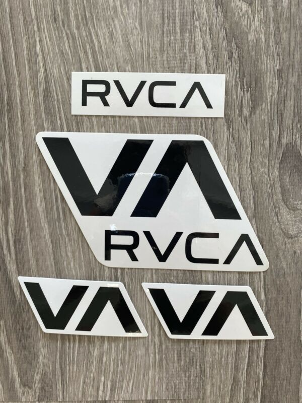 RVCA sticker Lot surfing surf surfboard skateboard snowboard industry Decal