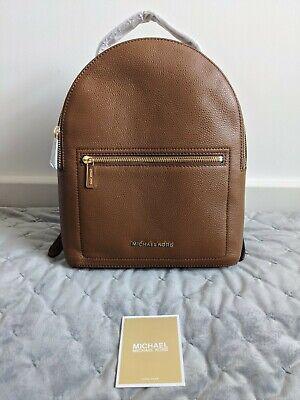 Michael Kors Jessa Backpack Bag Brown Tan Leather BNWT, RRP £260
