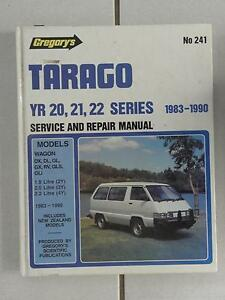 241 Gregory's Tarago Workshop Manual Narangba Caboolture Area Preview