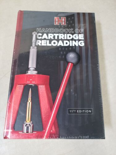 Hornady 11th Edition Handbook of Cartridge Reloading Manual 99241