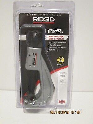 Ridgid 151 14 To 1 78 Quick Acting Tubing Cutter 31632free Pri-shp Nisp