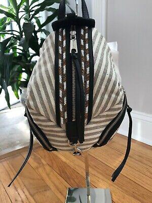 Rebecca Minkoff Convertible Mini Backpack, Aztec Multi Beaded, NWT Orig. $245 Multi Mini Backpack