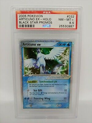 Pokemon Articuno ex - 032 - PSA NM-MT 8.5  Ultra Rare (Promo) 5544
