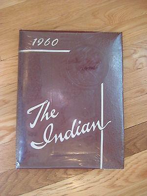 1960 vintage Arlington MA High School The Indian YEARBOOK cambridge lexington HS
