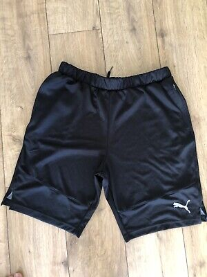Mens Large Puma Black Shorts, Used But Great Condition