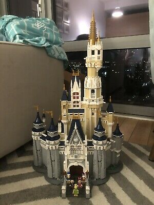 LEGO Disney Princess The Disney Castle (71040) Built Once Put Back In Bags