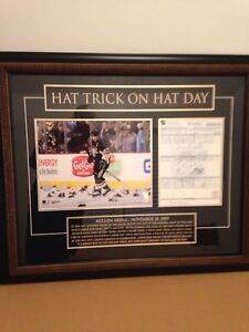 Sidney Crosby autographed frame