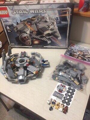 2004 LEGO Star Wars Millennium Falcon #4504 Incomplete *Unassembled