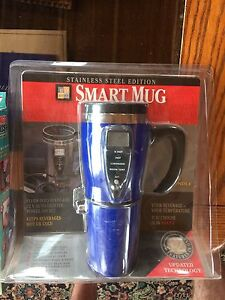 Stainless steel SMART MUG - BRAND NEW