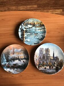 Collectable Plates set of 3 $150 OBO!!
