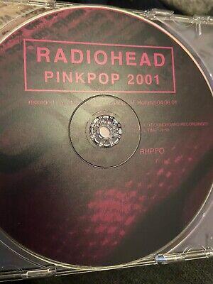 Radiohead - RARE Live At Pinkpop Holland 2001 CD *