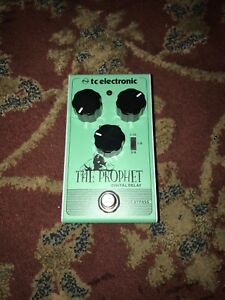 Tc Electronic the prophet delay pedal.