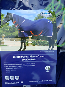 Horse Rugs 6 39 3ft Combo Weatherbeeta Fleece Cooler Brand New Only Tried On For Size 70 Br 5 9ft Rain Sheet Rug 50