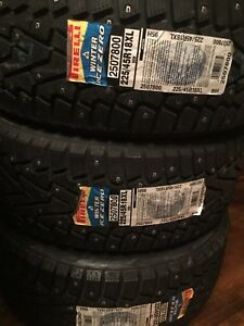 225/45/18 Pirelli Factory Studded Winter Tires