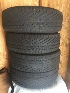 195 65 15 winter tires continental 150$ for all 4