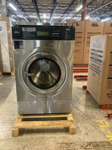 MFR30 Coin or Card Operated Maytag Rigid-Mount Front Load Washing Machine, USED