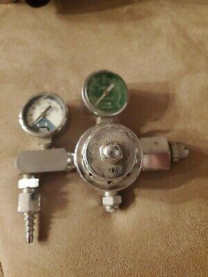 Vtg National Cylinder Gasncg Oxygen Regulator-chrome-chemetron-704