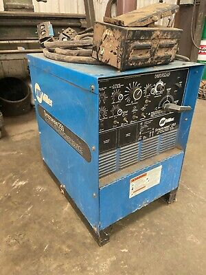 Miller Syncrowave 250 Tig Welder Acdc Welding Power Source