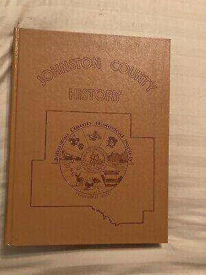 1979 Johnston County Oklahoma History Book Genealogy Chickasaw Nation