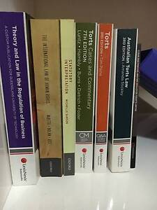 1ST YEAR LAW (QUT) TEXTBOOKS FOR SALE Everton Park Brisbane North West Preview