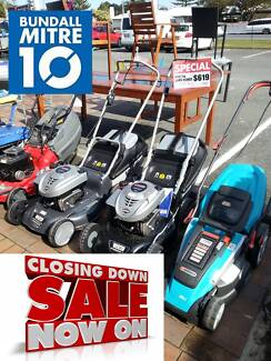 LAWN MOWERS ON CLEARANCE - MITRE 10 BUNDALL Bundall Gold Coast City Preview