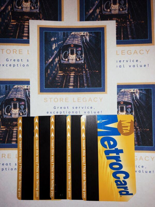 Metrocard MTA $100 Filled Metro Card BEST DEAL!
