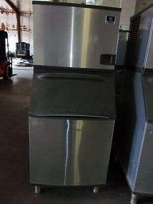 Manitowoc Iy0694n-261 Ice Maker Machine W B570 Storage Bin Jc0895 Compressor