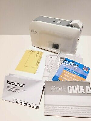 Brother P-touch Pt-1230pc Label Thermal Printer