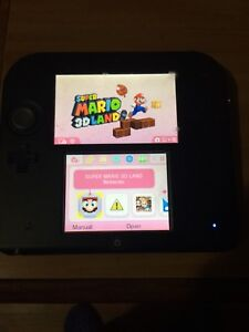 Nintendo 2ds with 3 games