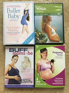 Pregnancy workout DVDs