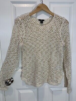 womens clothing H&M Size S Crochet
