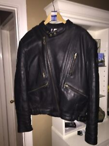 Brand new leather motorcycle jacket trade for