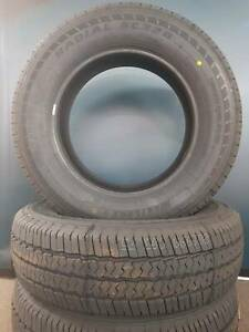 BRAND NEW - 215-75-R14 COMMERCIAL CARGO TYRES - FITTED & BALANCED