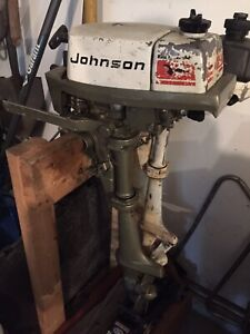 Johnson 2 hp outboard