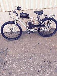 66cc motorized  bicycle